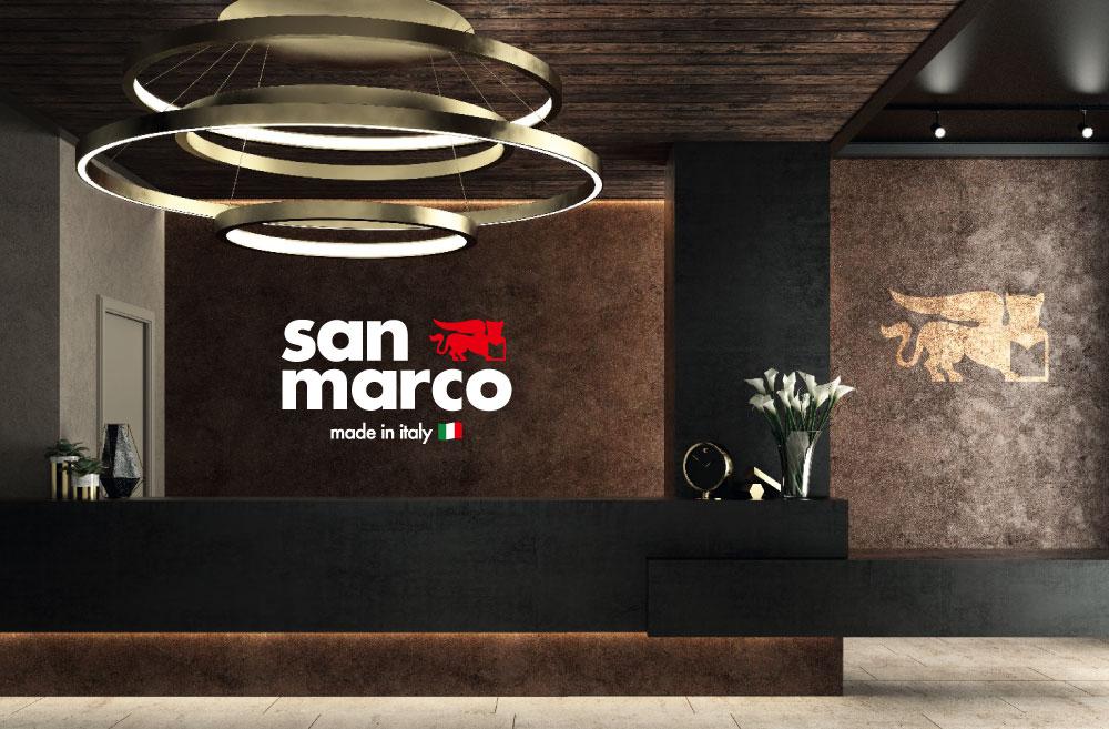 イタリア製輸入塗り壁材・塗材 サンマルコ社製品