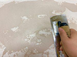 アーキプラスシリーズ 塗り壁 塗り方 塗りつけ二度目