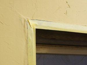 アーキプラスシリーズ 塗り壁 塗り方 マスキングテープでの養生